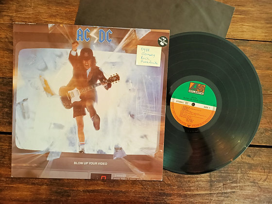 AC/DC,Blow Up Your Video Lp(1988, Germany)