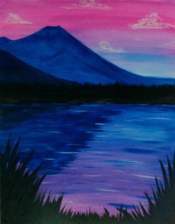 Lake Kathlyn Sunset