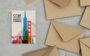 California City Management Foundation annual membership dinner invitation