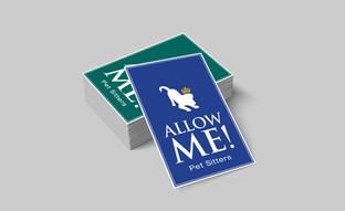 Allow Me Pet Sitters logo