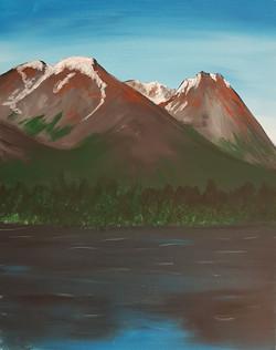 Hudson Bay Mountain Lake View