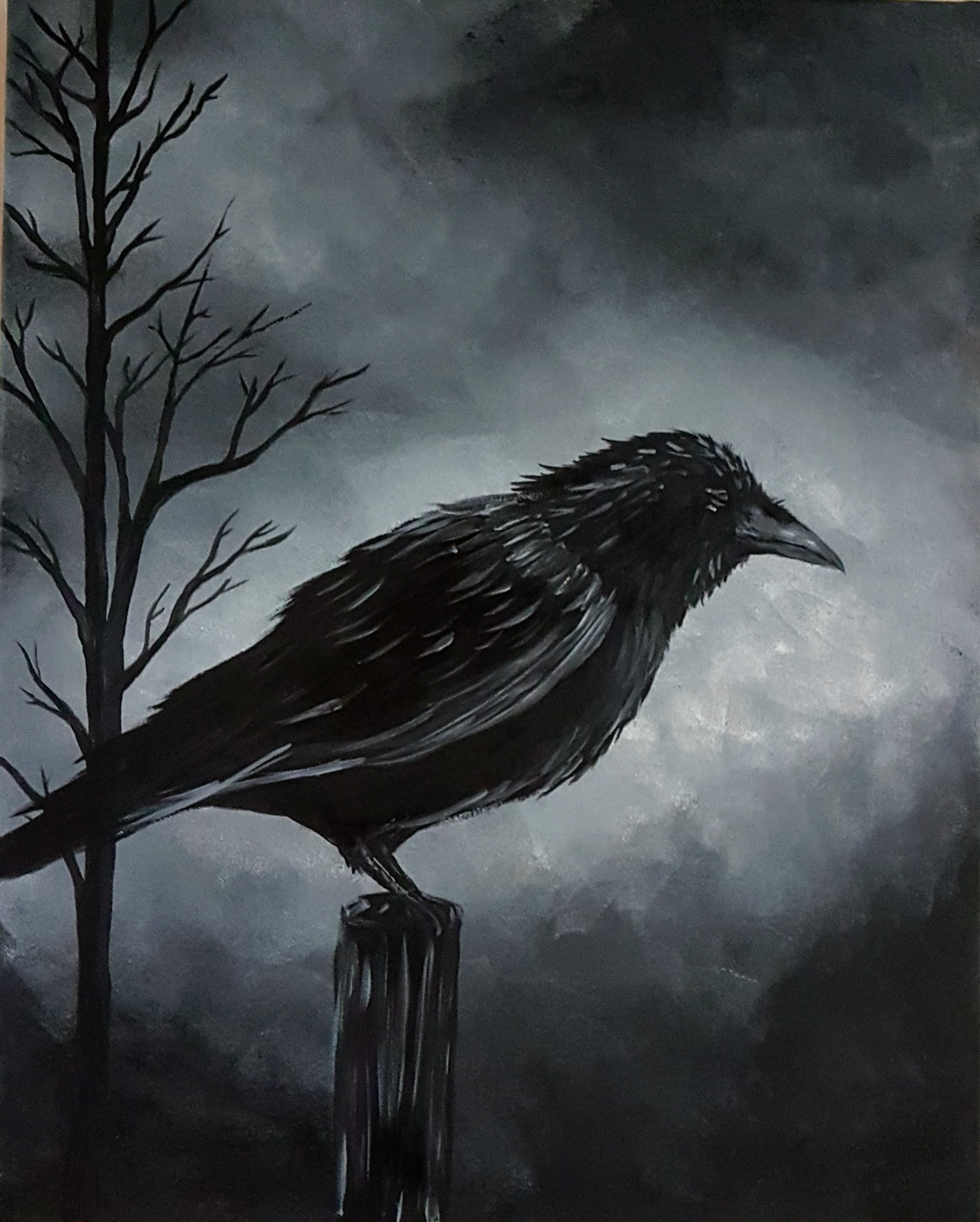 Creepy Crow
