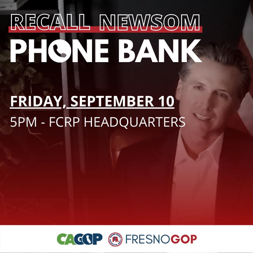 Recall Phone Bank w/ Chairwoman Patterson