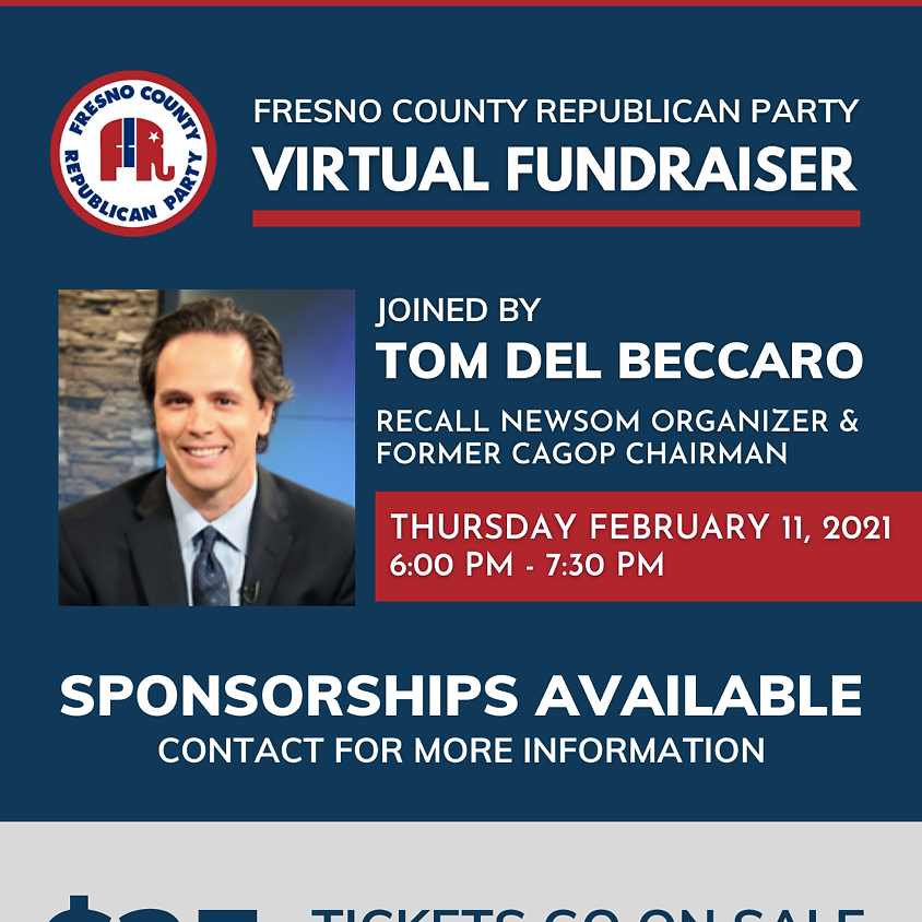 FCRP Virtual Fundraiser with Tom Del Baccaro