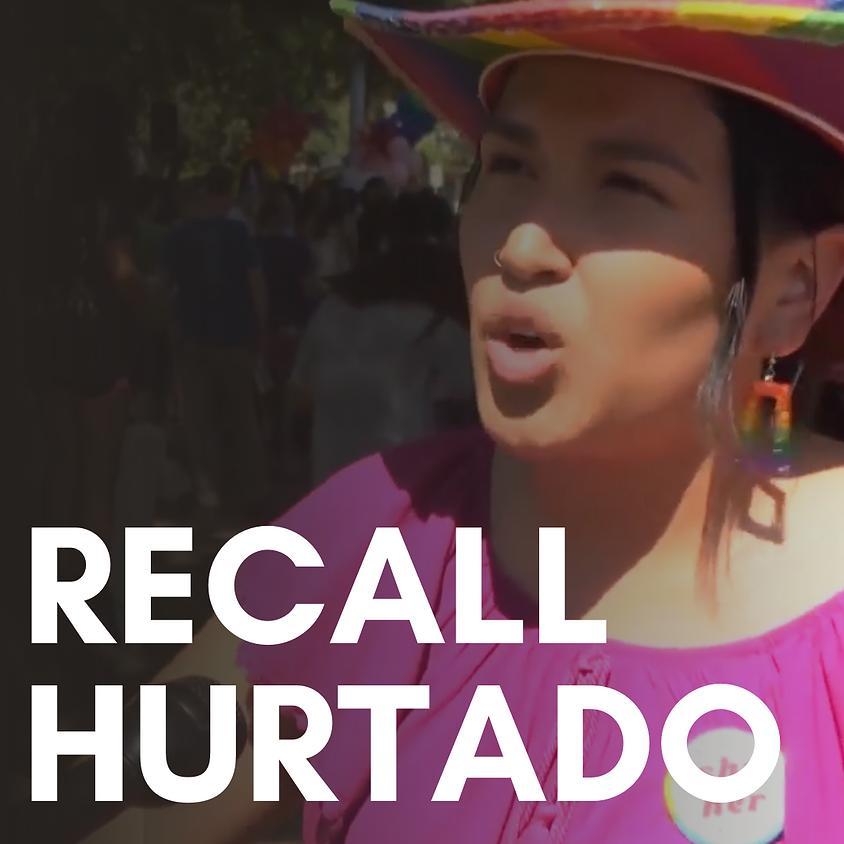 Recall Hurtado Precinct Walk (Afternoon)