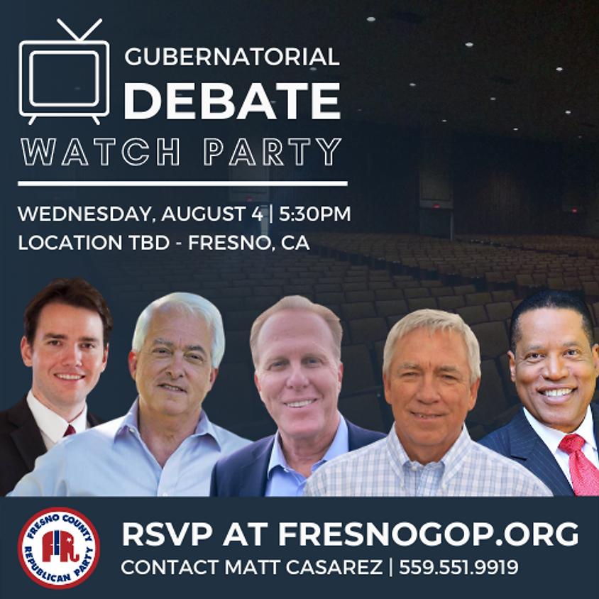 Gubernatorial Debate Watch Party