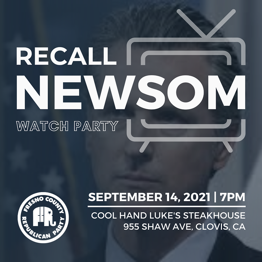Recall Election Watch Party