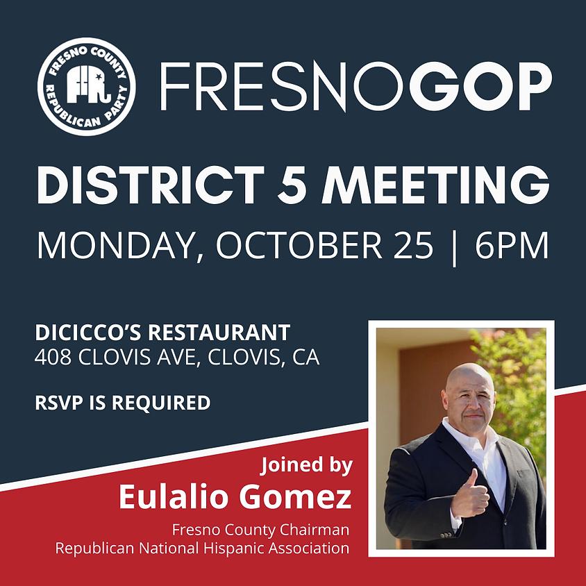 District 5 Meeting