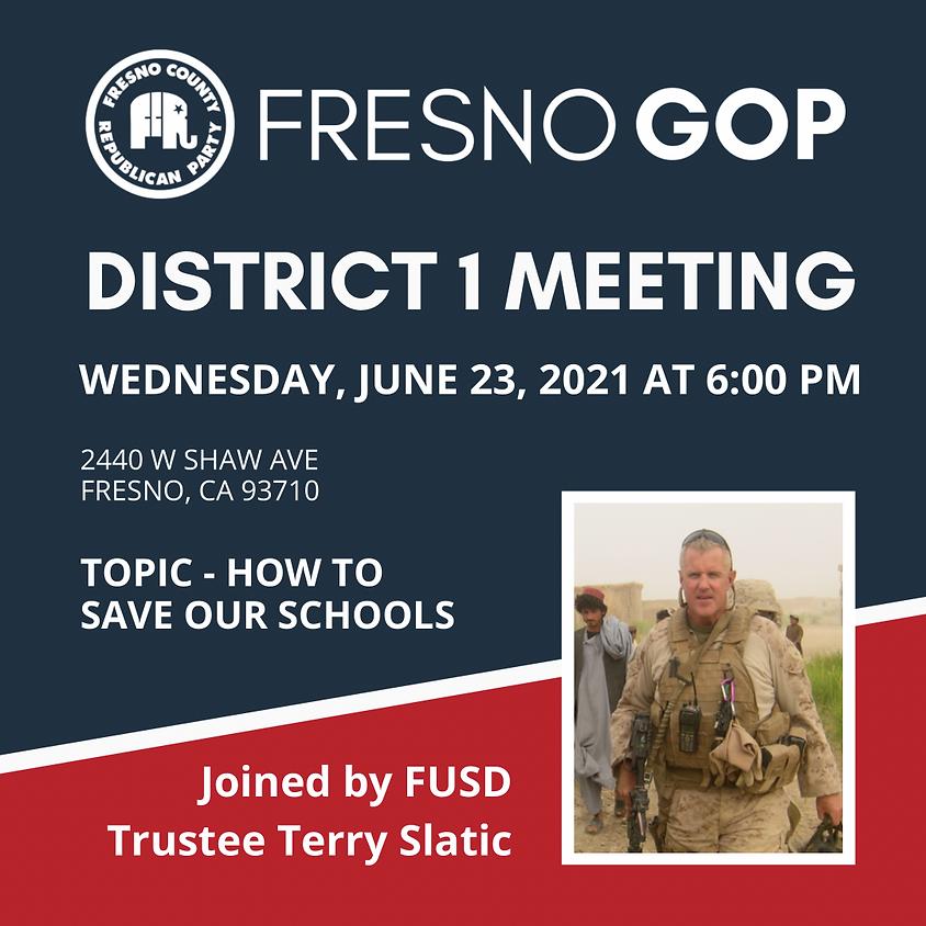 District 1 Meeting