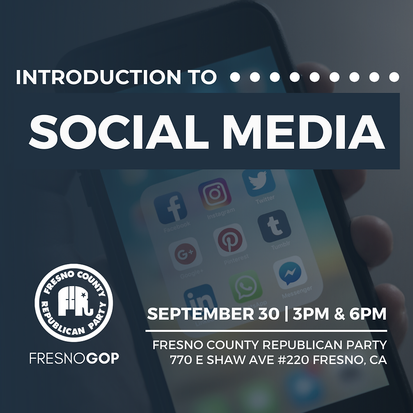 Training - Introduction to Social Media
