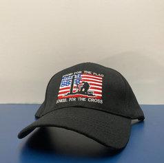 Cross & Flag Hat