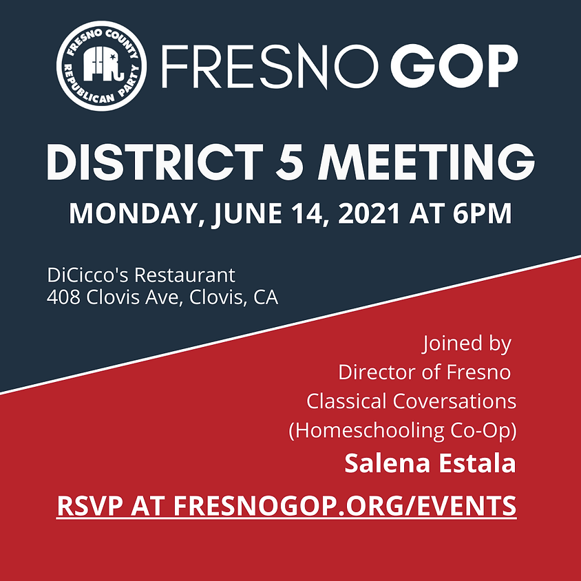 District 5 Meeting (June)