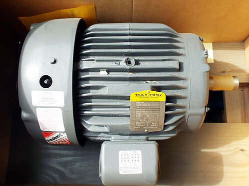 1 NEW BALDOR M8009T 10HP ELECTRIC MOTOR