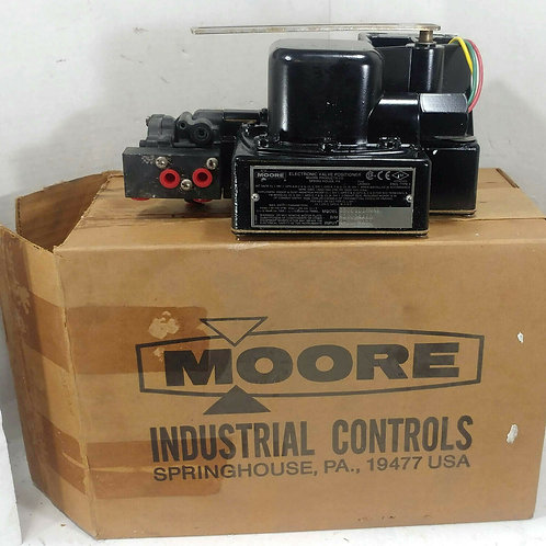 NEW MOORE 750E1C1MNNF ELECTRONIC VALVE POSITIONER