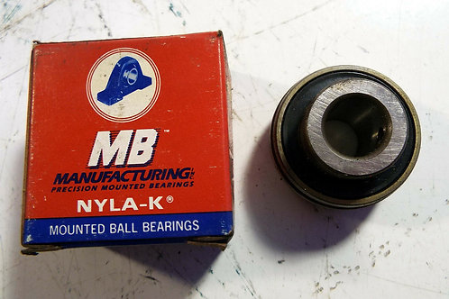 NEW MB MFG MB25-9/16-PA NYLA-K BEARING INSERT
