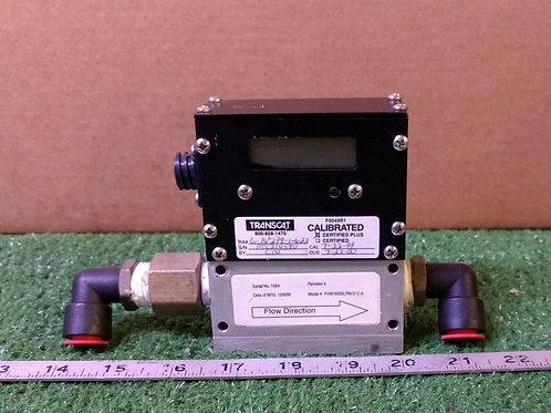 USED ALICAT SCIENTIFIC PVM-500SLPM-D-C-A Rev. 4 FLOW METER