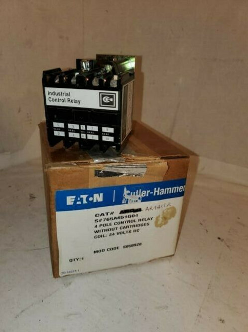 NEW EATON ARD4L RELAY COIL 24VDC