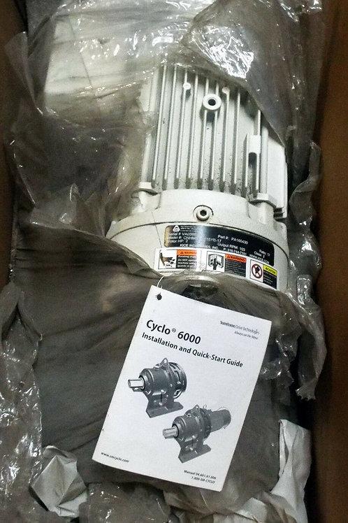 NEW SUMITOMO CNHMS2-6115YB-17 CYCLO 6000 GEARMOTOR, 2 HP