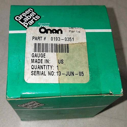 NEW ONAN GAUGE 0193-0351