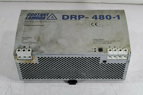 USED COUTANT LAMBDA DRP-480-1 POWER SUPPLY 5A