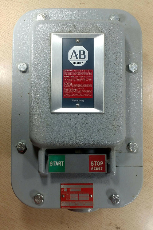 NEW ALLEN-BRADLEY 40189-800-01 ENCLOSURE FOR 609 MANUAL SWITCH