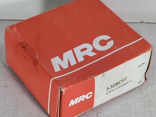 NEW MRC 5308CFF DOUBLE ROW ANGULAR CONTACT BEARING