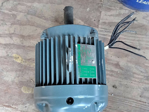 NEW LINCOLN TEFC AC MOTOR 7.5 HP, 1745 RPM, 3 PHASE