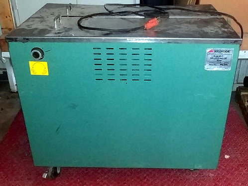 USED SIGNODE MS-T STRAPPING MACHINE *WORKING MACHINE W/ 2 SPARE