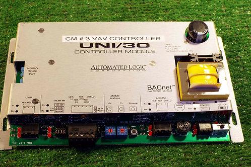 USED AUTOMATED LOGIC UNI/30 CONTROLLER MODULE