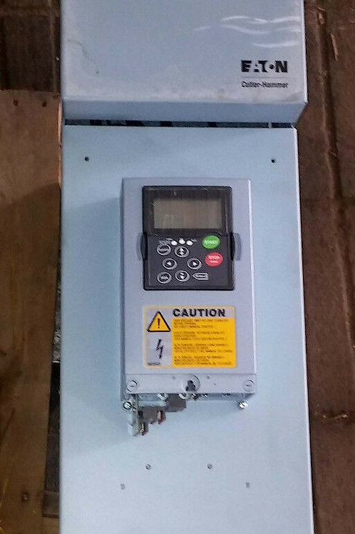 USED EATON INTELLIPASS SVX060A1-4A1N1 ADJUSTABLE FREQUENCY DRIVE