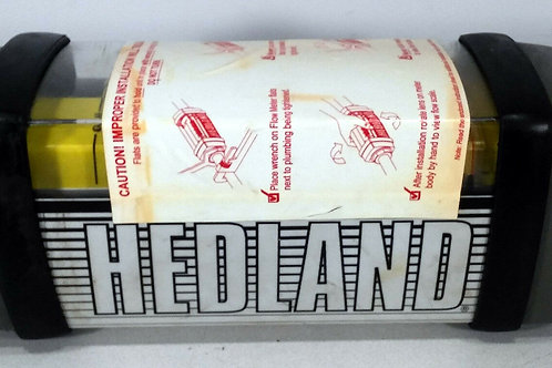"""1 NEW HEDLAND H800A-100 FLOW METER 1-1/4"""", 10-100 GPM"""