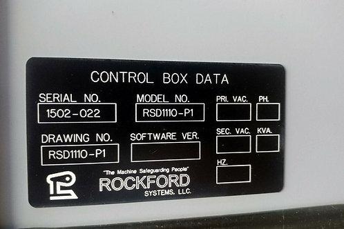 NEW ROCKFORD RSD1110-P1 CONTROL BOX
