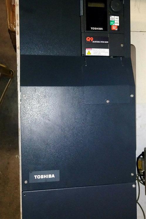 USED TOSHIBA VT130Q9U410K TRANSISTOR INVERTER VER. 4 W/ Q9 DRIVE