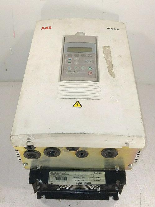 USED ABB ACS601-0020-4-000B1200800 FREQUENCY CONVERTER DRIVE 3PH