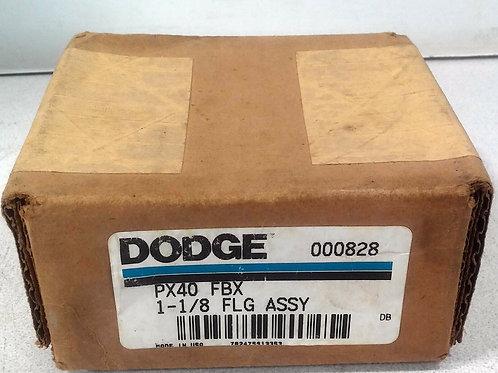 NEW DODGE PX40 FBX FLANGE ASSEMBLY 1-1/8