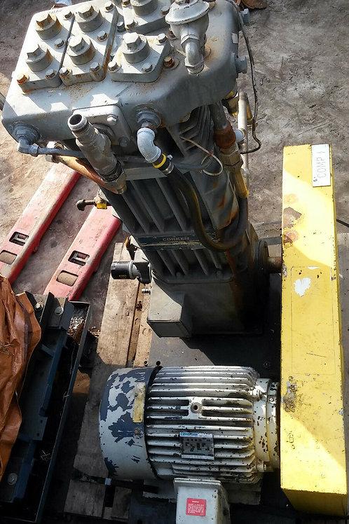 CORKEN WD590BM4FBAFSNN GAS COMPRESSOR w/MARATHON ELEC 15hp MOTOR