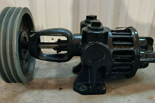 USED ROPER 2F 50 GEAR PUMP TYPE 27 w/ 3-GROOVE PULLEY