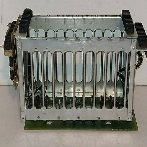 USED RELIANCE ELECTRIC 84587-11T 8-POSITION CARD RACK