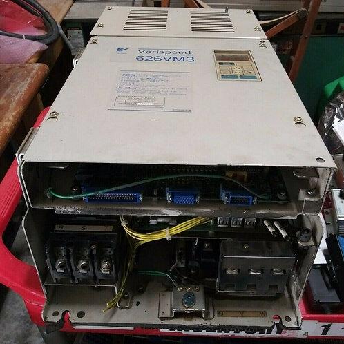 USED YASKAWA CIMR-VMW2011 VARISPEED 626VM3 SPINDLE DRIVE 230VAC