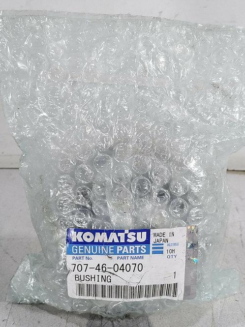 NEW KOMATSU 707-46-04070 GENUINE PARTS BUSHING