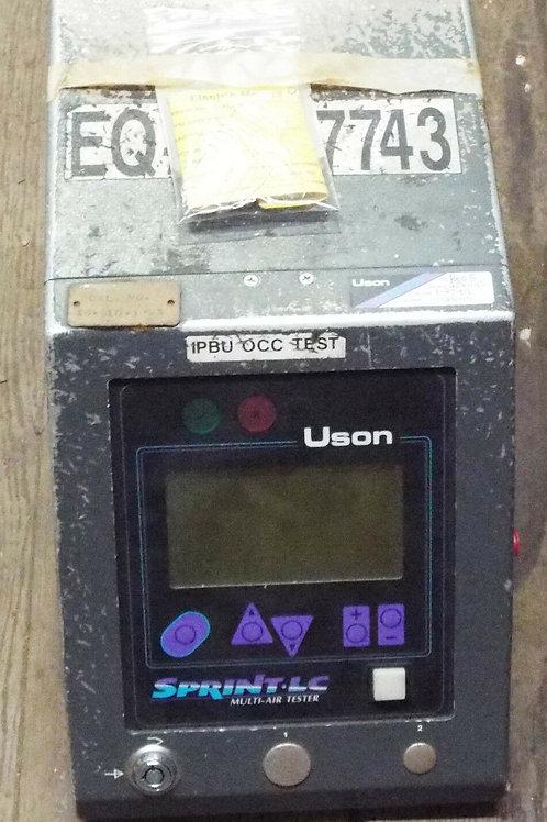 USED IDS LC-2P0B LEAK & FLOW METER