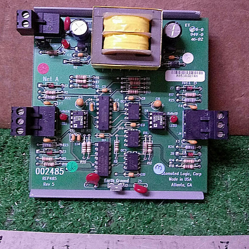 USED AUTOMATED LOGIC REP485 CONTROL BOARD