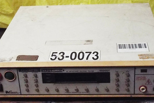 USED ASSOCIATED RESEARCH 5500DT HYPOT PLUS II VOLTAGE TESTER