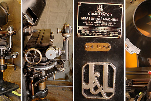 J & L OPTICAL COMPARATOR & MEASURING MACHINE Ca 1940