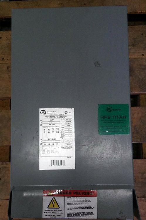NEW HAMMOND POWER Q037PEKF DRY TYPE TRANSFORMER 1PH 37.5kVA