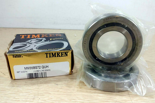 NEW TIMKEN (FAFNIR) MM35BS72 QUH PRECISION BALL SCREW SUPPORT BEARING