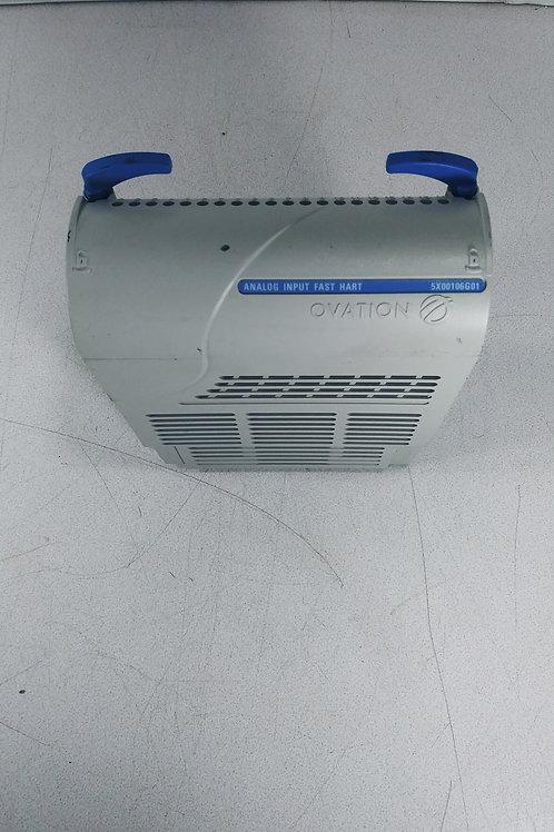 1 USED OVATION 5X00106G01 ANALOG INPUT FAST HART