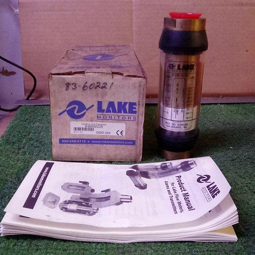 NEW LAKE MONITORS B4B6WD25 FLOW METER 3500PSI 240BAR