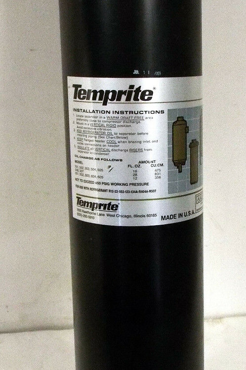 """NEW TEMPRITE MODEL 505 CONVENTIONAL OIL SEPARATOR 1/4"""" SAE PART No. 050500000"""