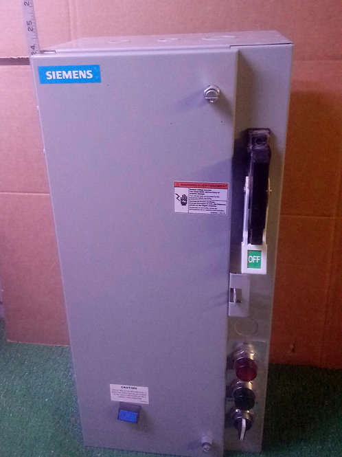 NEW SIEMENS 17CSA92BF10 FUSIBLE COMBINATION STARTER